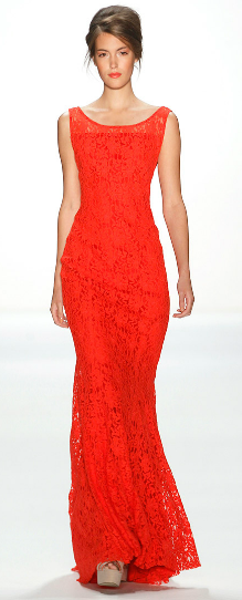 rotes Abendkleid Minx by Eva Lutz