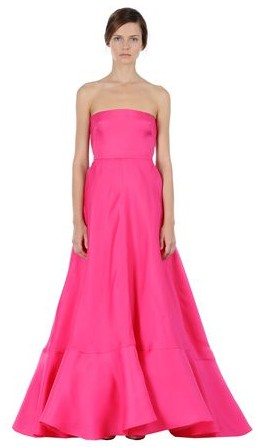 Ballkleid pink, trägerlos, Valentino