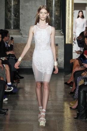 Transparentlook weiß - Emilio Pucci