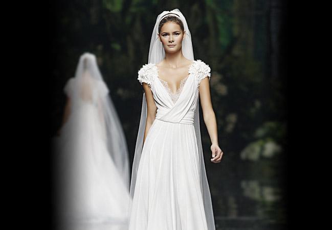 legeres Hochzeitskleid