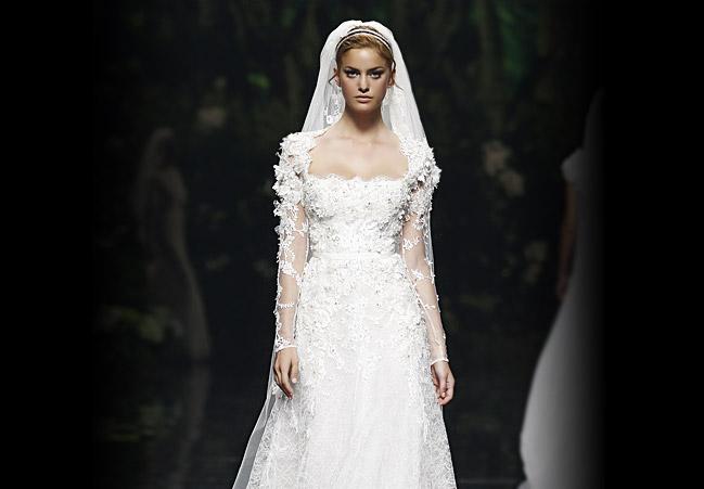 Hochzeitskleid weiß, Pronovias