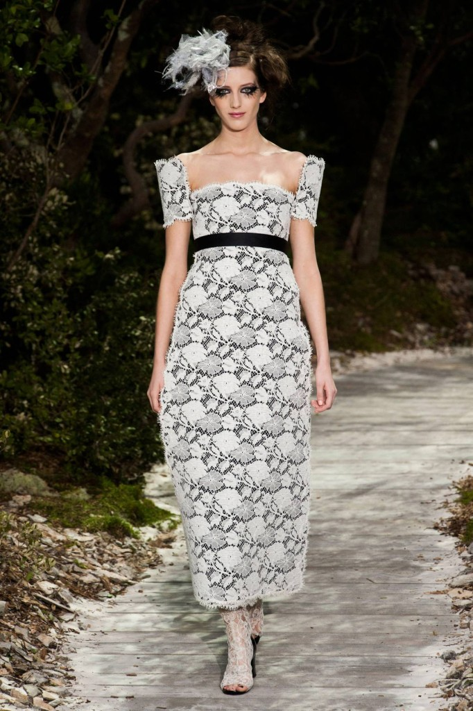 Sommerliches Abendkleid Chanel 2013