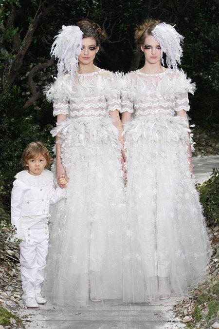 Chanel Brautkleider