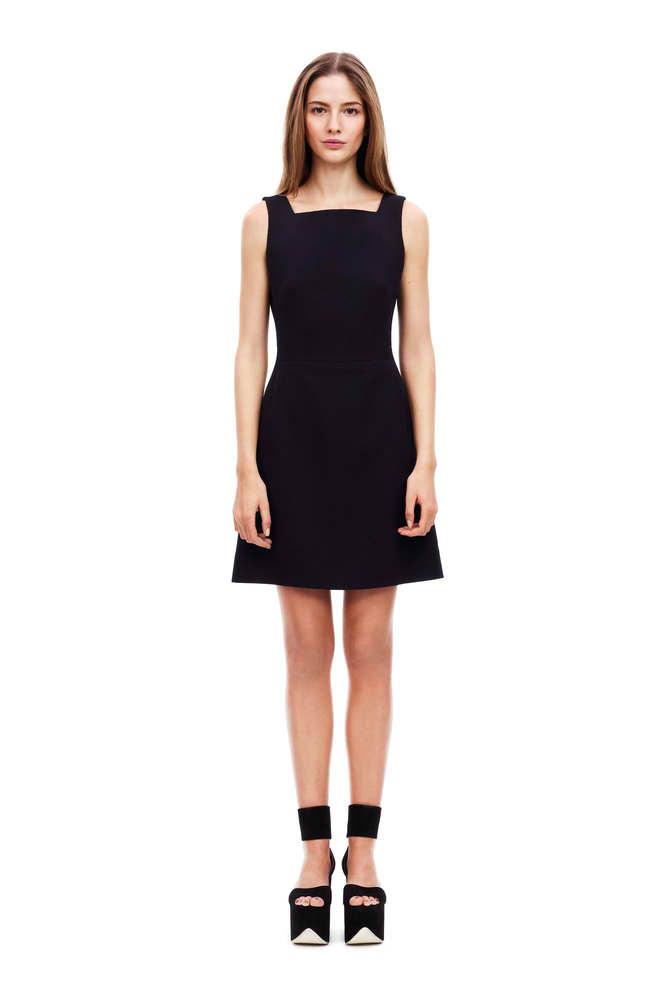 Victoria Beckham Cocktailkleid schwarz