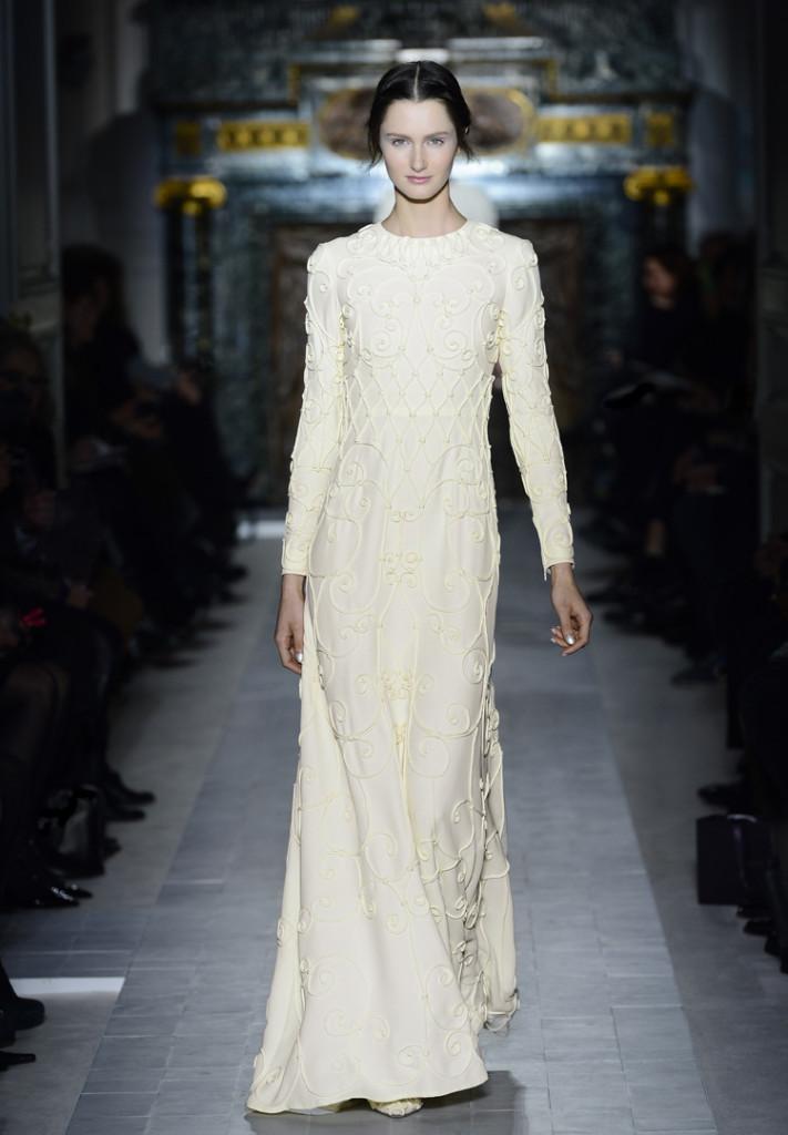 Valentino Abendkleid weiß