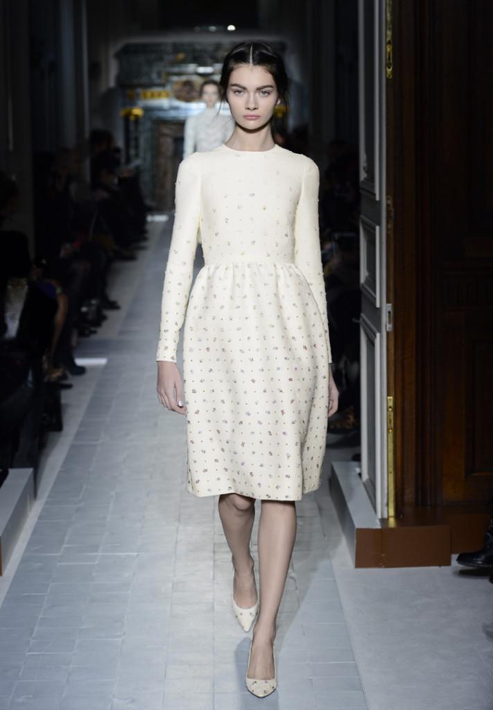 Valentino Kleid weiß