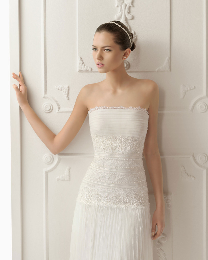 Hochzeitskleid weiß, Aire Barcelona
