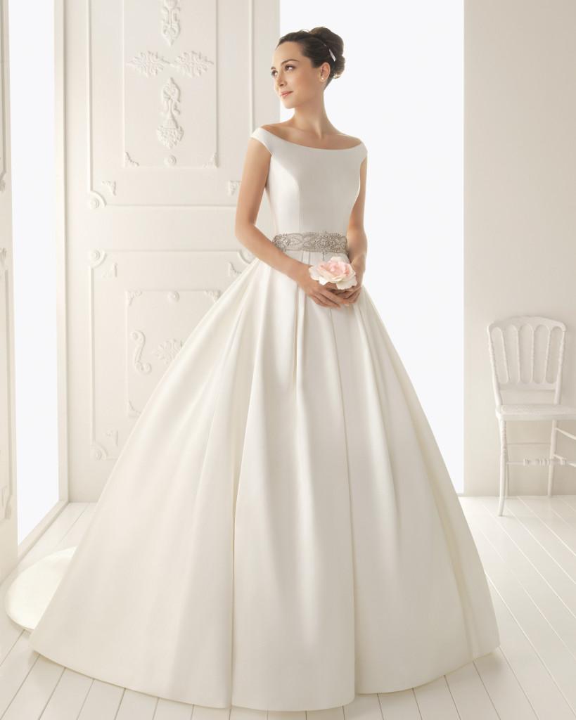 Gemütlich Ovaler Ausschnitt Brautkleider Zeitgenössisch ...