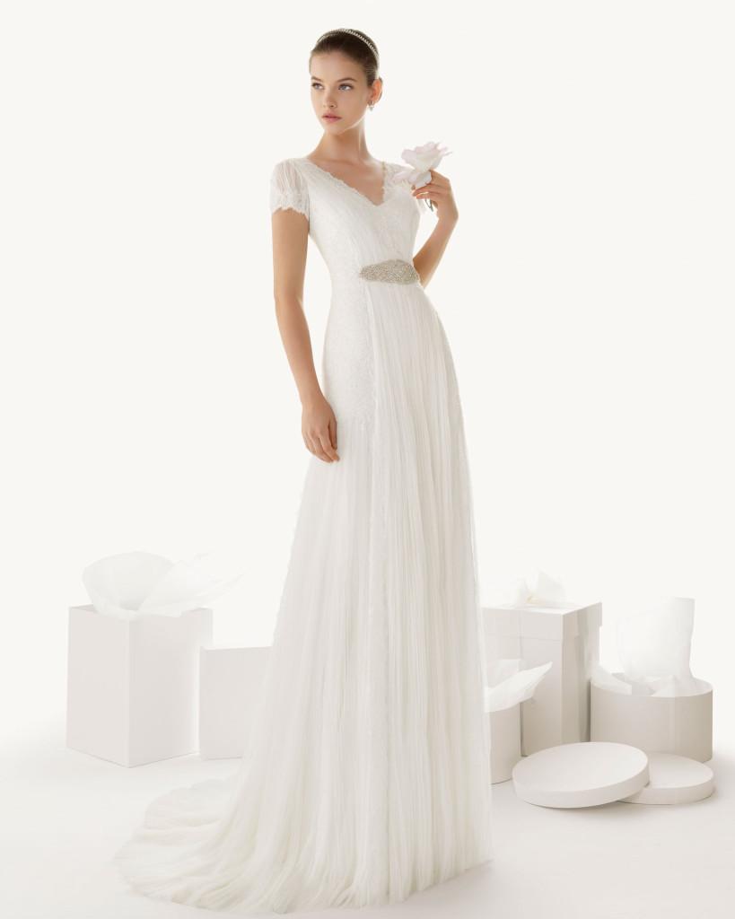 Brautkleid 20er Jahre, Rosa Clara