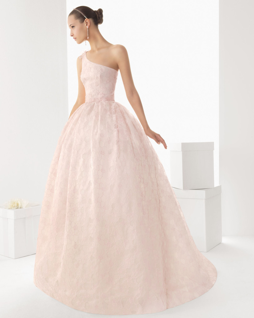 Brautkleid rosa - Rosa Clara, Spanien