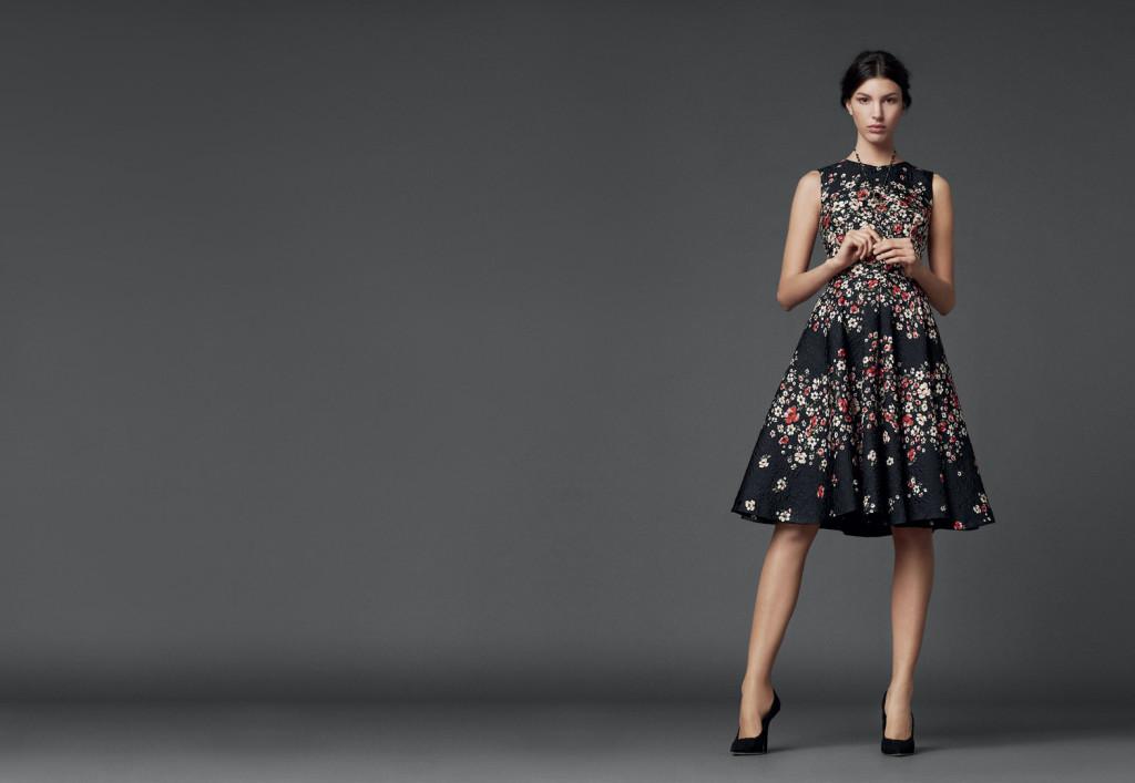 dolce gabbana collection black models picture. Black Bedroom Furniture Sets. Home Design Ideas