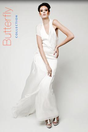 KAY RAINER - weißes Abendkleid