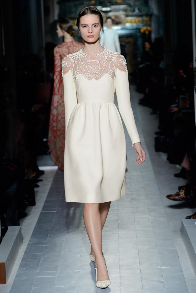 Kurzes Brautkleid, Valentino