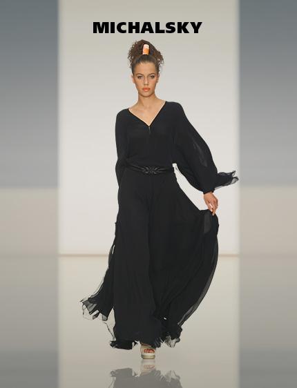 schlichte abendkleider michael michalsky lange kleider. Black Bedroom Furniture Sets. Home Design Ideas