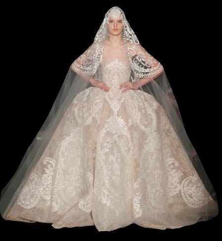 ELIE SAAB Hochzeitskleid 2013 – Haute Couture Abendkleider und ...