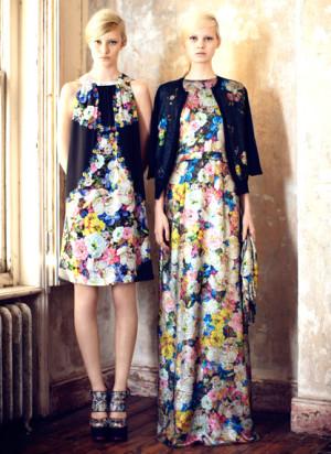 Kleider mit floralen Prints, Erdem
