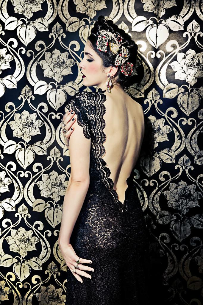Kleider 50er Stil, Russian Rose, Lena Hoschek 2014