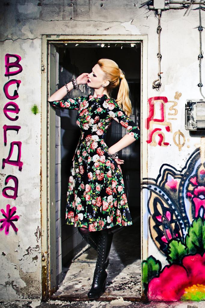 Russian Rose, Lena Hoschek 2014