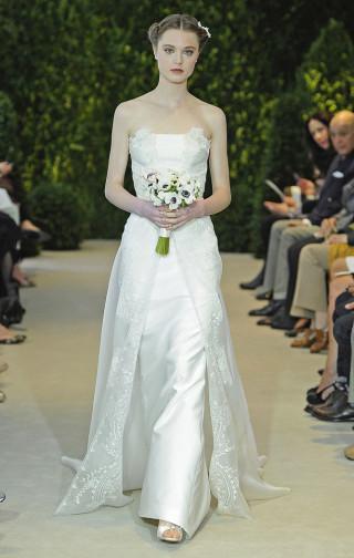 Moderne Hochzeitsrobe, Carolina Herrera