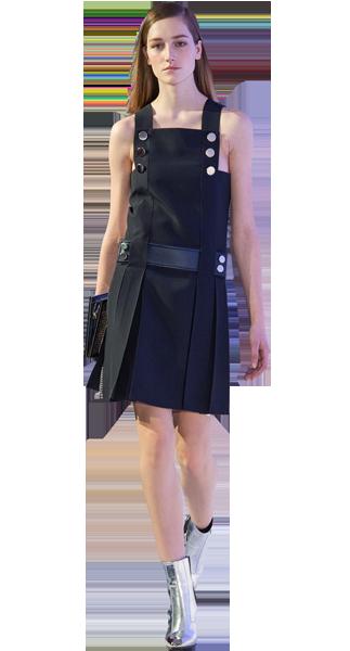 Minikleid, Trägerkleid Paco Rabanne