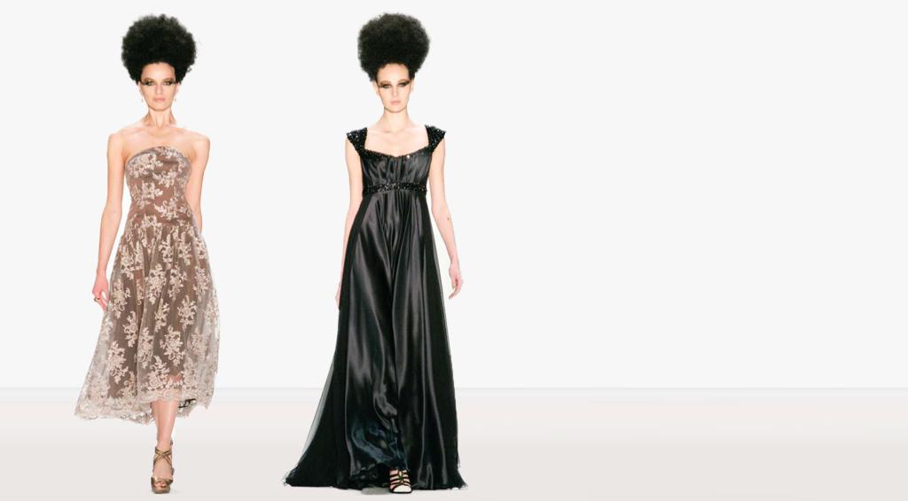 Abendkleider, Kleider für Sylvester 2013 - Kretschmer