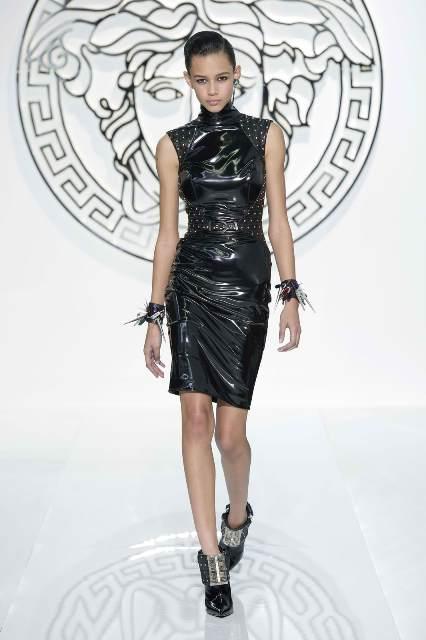 Punk Kleider Versace 2013