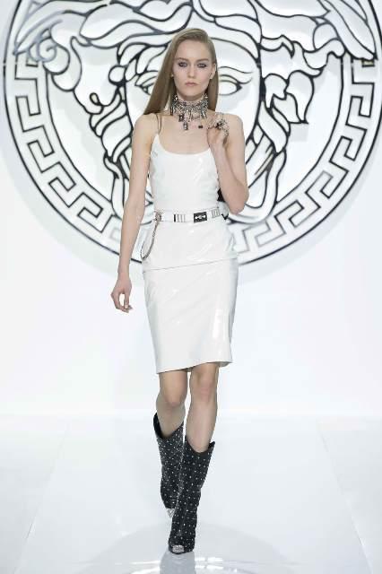 Versace Kleid weiß