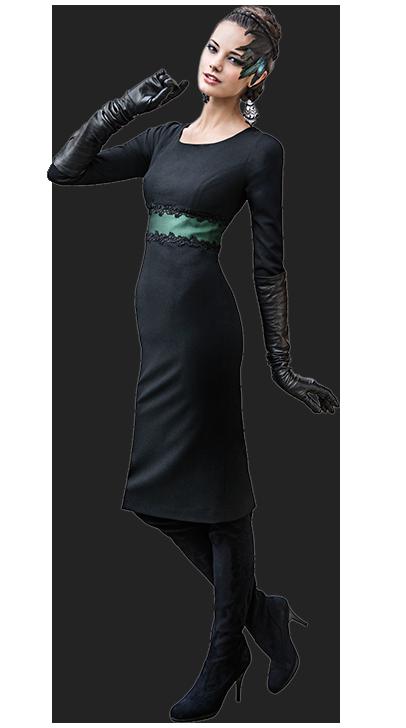 Mothwurf Kleid 2014