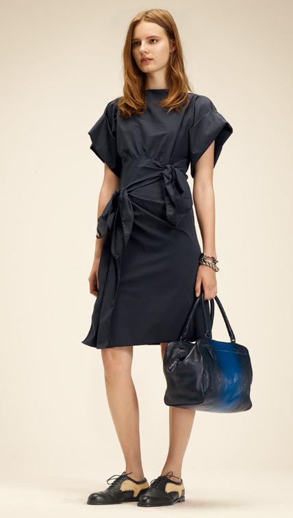 Kurzes Kleid schwarz, Bottega Veneta