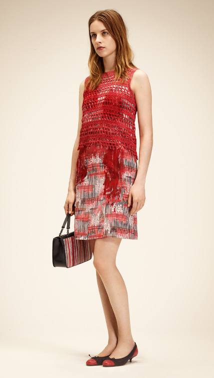 Kurzes Kleid, Bottega Veneta 2014