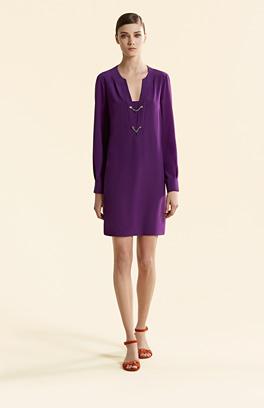 Gucci Kleider 2015 - Kleid violett
