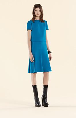 Mittelblaues Kleid Gucci 2015