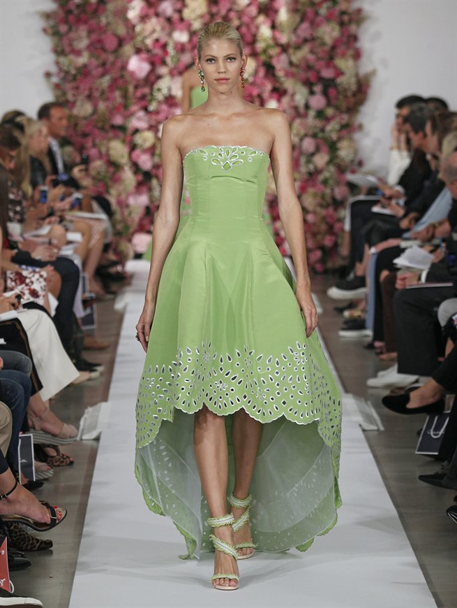 Oscar de la Renta Red Carpet Dresses 2015