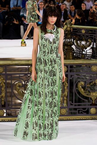 Abendkleidmit Palmen, John Galliano 2015