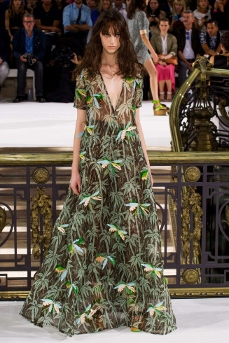Hippiekleider als Abendkleider 2015 - John Galliano 2015