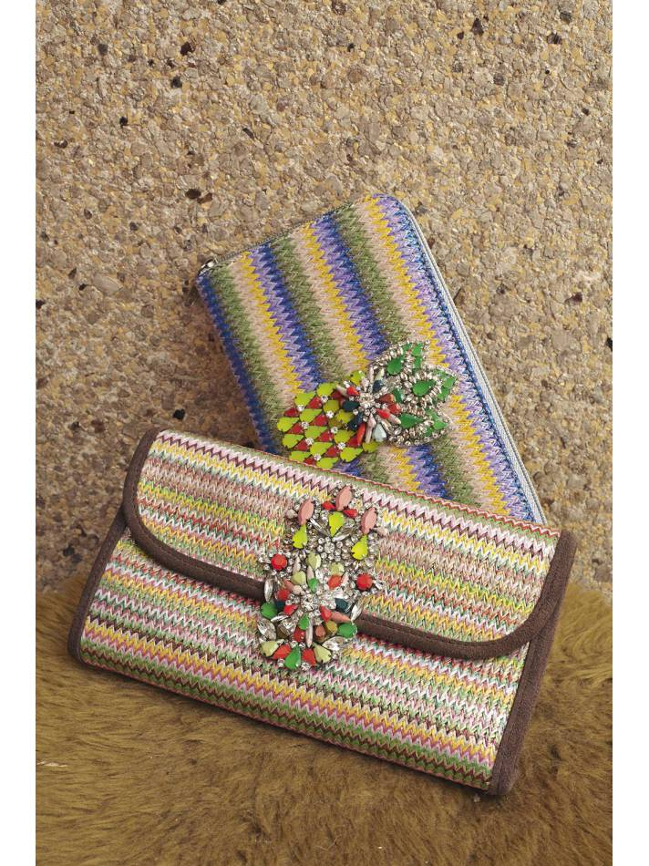Bunte Clutches Mademoiselle Manoush