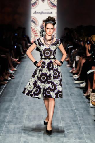 Sommerkleider 2015 Lena Hoschek - Dress Chocolate Stars