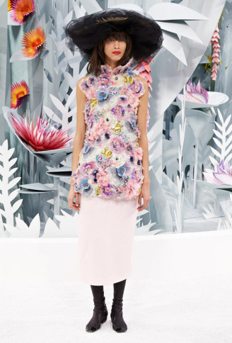 Haute Couture Karl Lagerfeld für Chanel