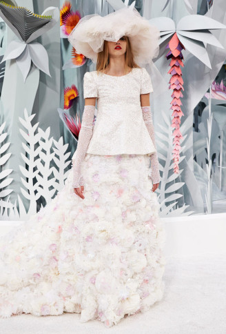 Haute Couture Karl Lagerfeld SS 2015