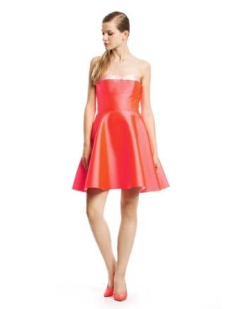 Rotes Cocktailkleid Tara Jarmon