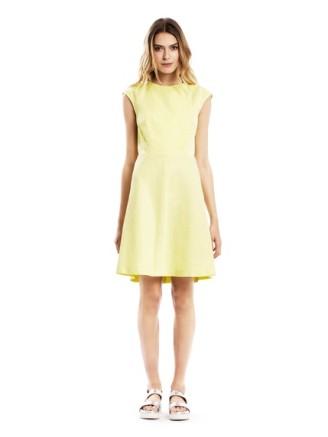 Zitronengelbes Kleid Tara Jarmon