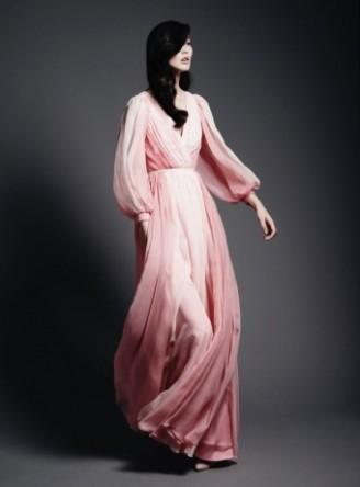 Meissen Couture Ballkleid rosa