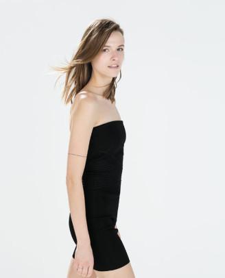 Cocktailkleid schwarz, Zara