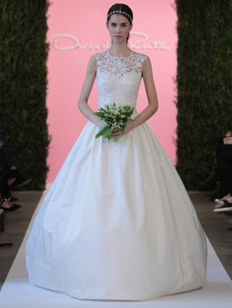 Hochzeitskleider 2015 - Oscar de la Renta