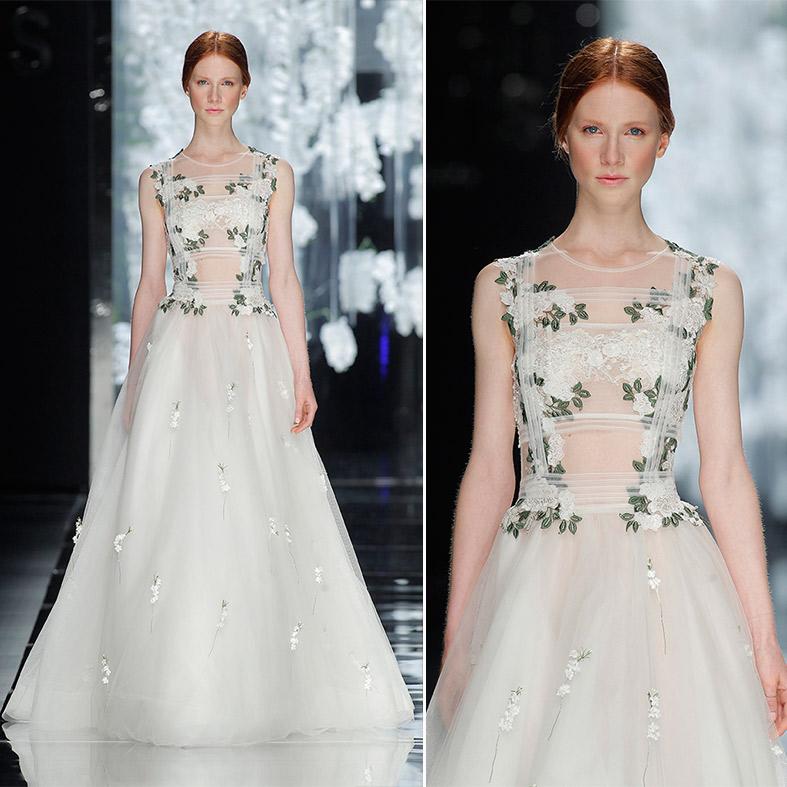 Floral Dresses - Brautkleider Yolan Cris