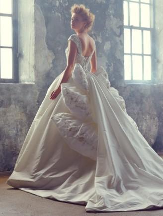 YUMI KATSURA Brautkleid mit Schleppe