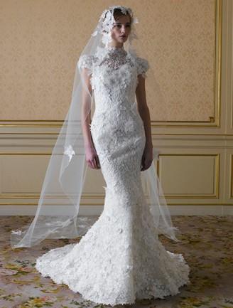 YUMI KATSURA Meerjungfrau Brautkleid