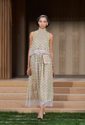 Sommerliches Abendkleid Chanel 2016