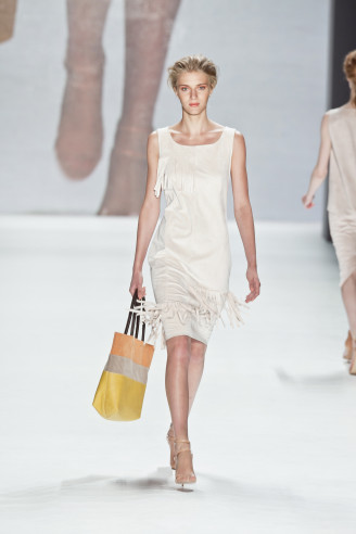 Fransenkleid weiß - Minx Mode