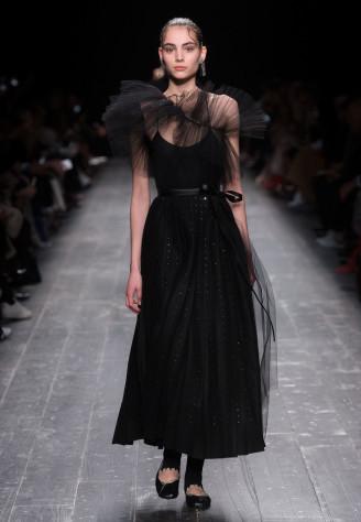 Ballkleid schwarz, Valentino
